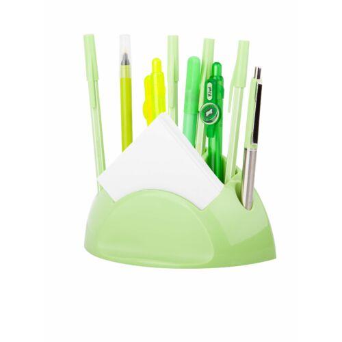 ÍRÓSZERTARTÓ ICO Smart design colour írószer+jegyzettömb (világoszöld, 9570157010)