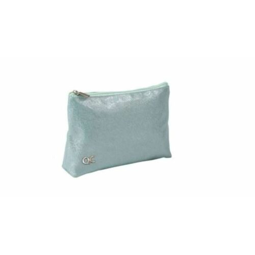 KOZMETIKAI táska Quattro Colori Sparkle csillámos menta