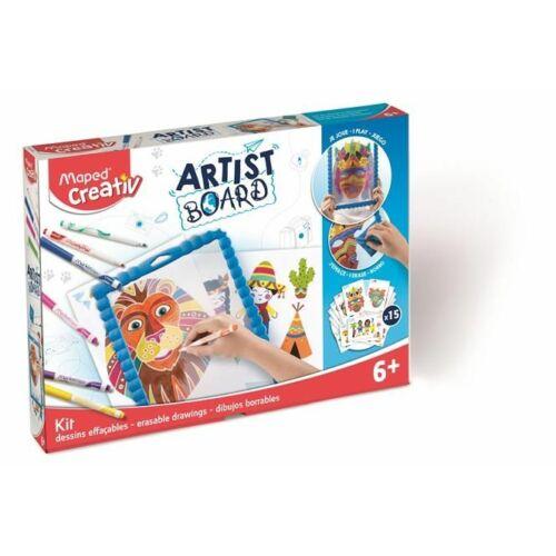 "KREATÍV SZETT MAPED ""Artist Board"" kalandos világ"