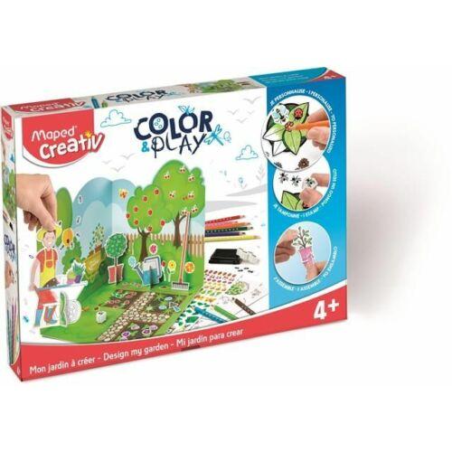 """KREATÍV SZETT MAPED """"Color and Play"""" kerttervező"""
