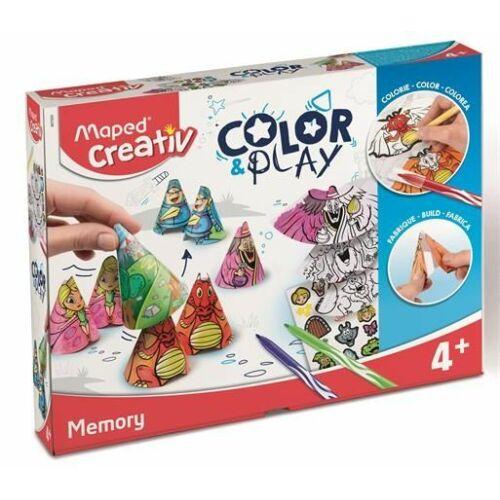 """KREATÍV SZETT MAPED """"Color and Play"""" memóriajáték"""