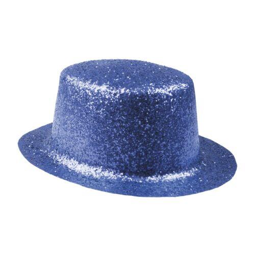 FARSANGI PARTY KALAP Derby gltteres kék színekben 26*23cm