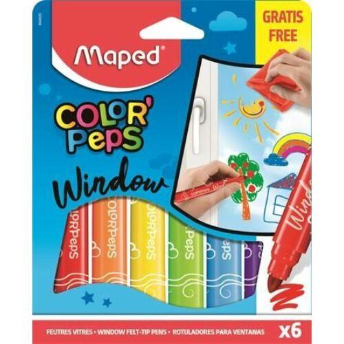 ROSTIRON 6 Maped ablakfilc Color Peps+mikroszálas törlőkendő