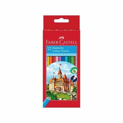 SZINESCERUZA 12 FABER Castell hatszögletű 120112