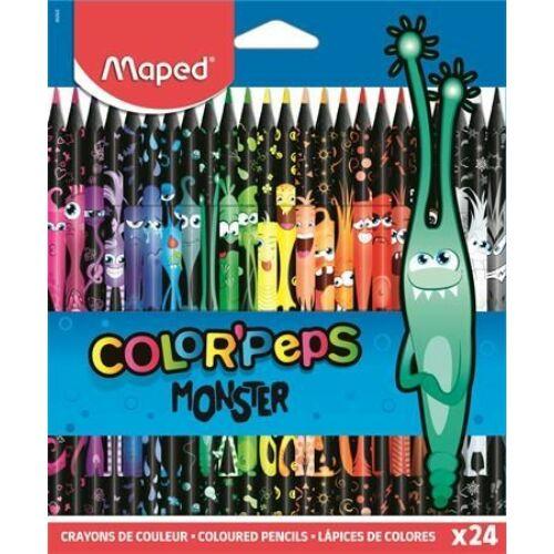 "SZINESCERUZA 24 MAPED ""Color'Peps Monster"""