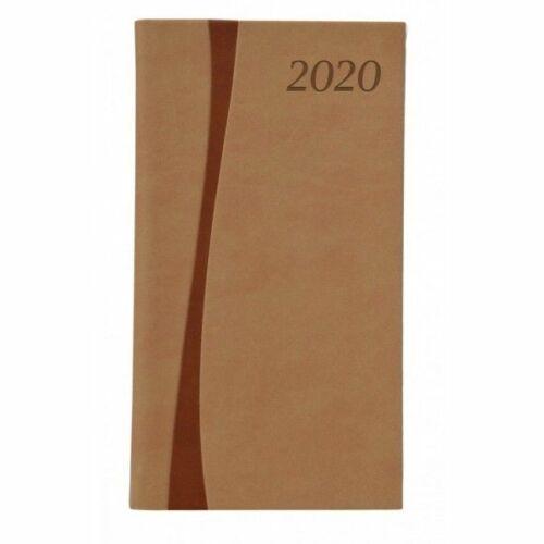 ZSEBNAPTÁR 2020 heti álló TOPTIMER Duplex D035 (v.barna/barna, 285261050)