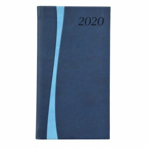 ZSEBNAPTÁR 2020 heti álló TOPTIMER Duplex D035 (skék/vil.kék, 285261010)