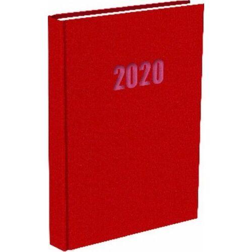 ZSEBNAPTÁR 2020 heti fekvő T-Calendar Balacron (piros, L03921400)