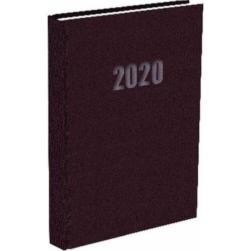 ZSEBNAPTÁR 2020 heti fekvő T-Calendar Balacron (barna, L03921800)