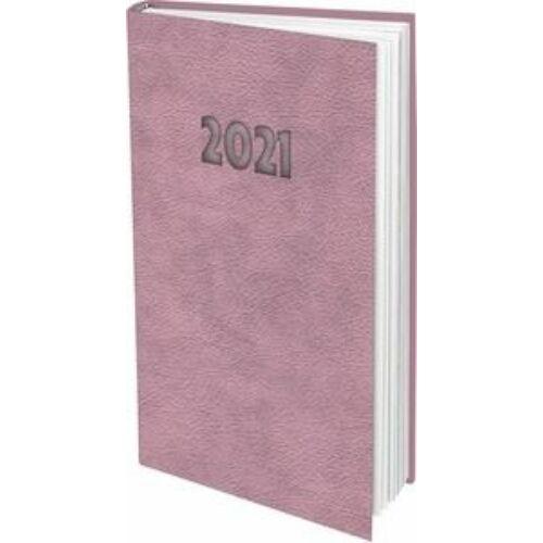 ZSEBNAPTÁR 2021 heti álló T-Calendar Nebraska Pastel (rózsaszín, L03913NP650)