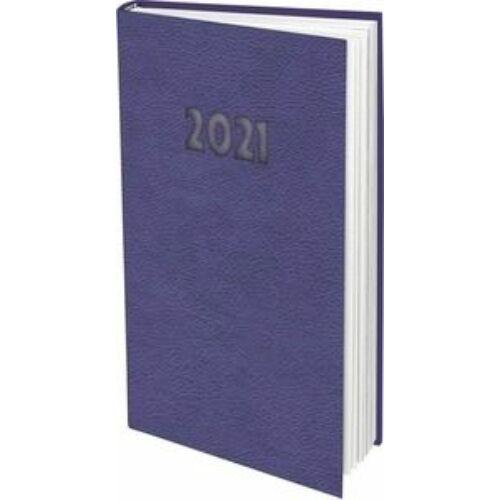 ZSEBNAPTÁR 2021 heti álló T-Calendar Nebraska Pastel (lila, L03913NP700)