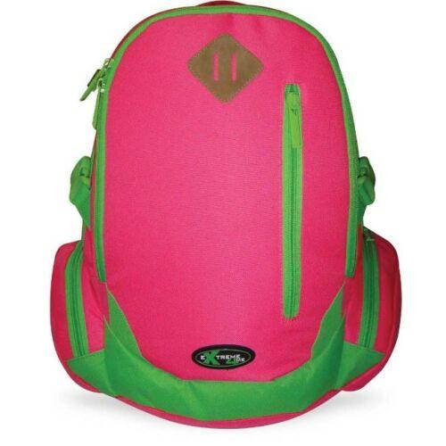 Hátitáska  Extreme4Me Neon rózsaszín és zöld