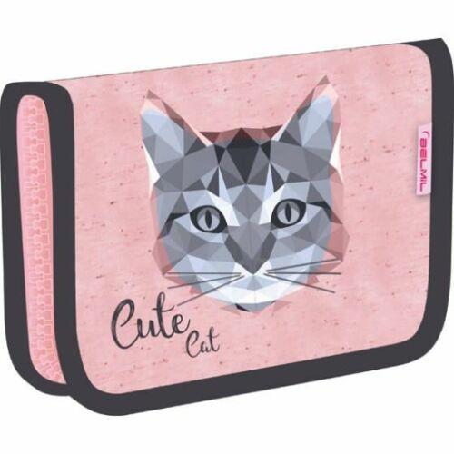 TOLLTARTÓ klapnis2 BELMIL18 335-72  szövet 14*20,5*3,5cm Cute Cat