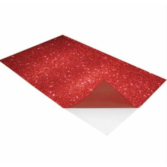 DEKORGUMI A4 2mm öntapadós glitteres színes