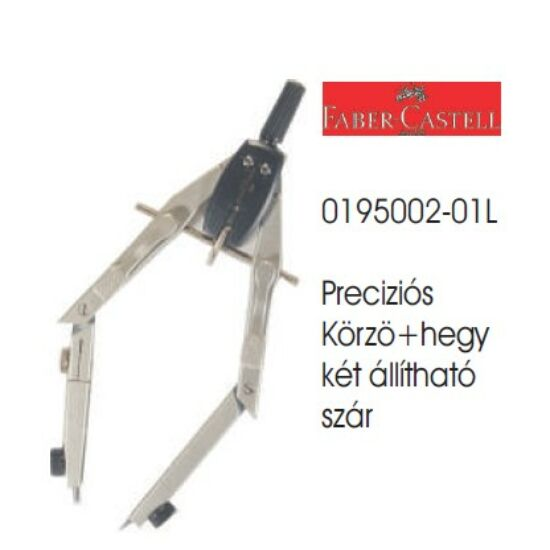 KÖRZŐ FABER Precíziós gyorsállítóval 0195002