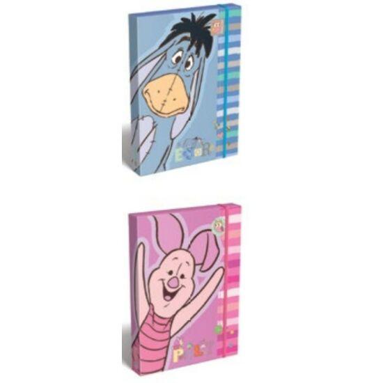 FÜZETBOX A5 LIZZY vastag Disney Micimackó