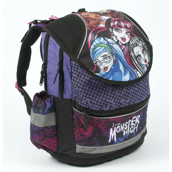 ISKOLATÁSKA P+P PLUS Monster High merevtalpú 35*40*18cm 3-218**