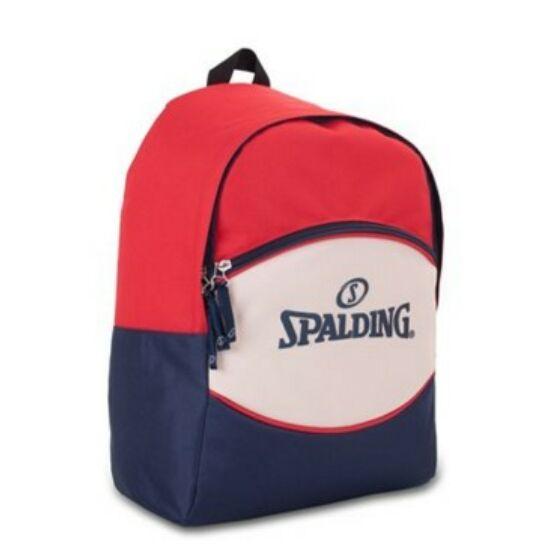 Hátitáska Spailding Sport piros-törtfehér-kék
