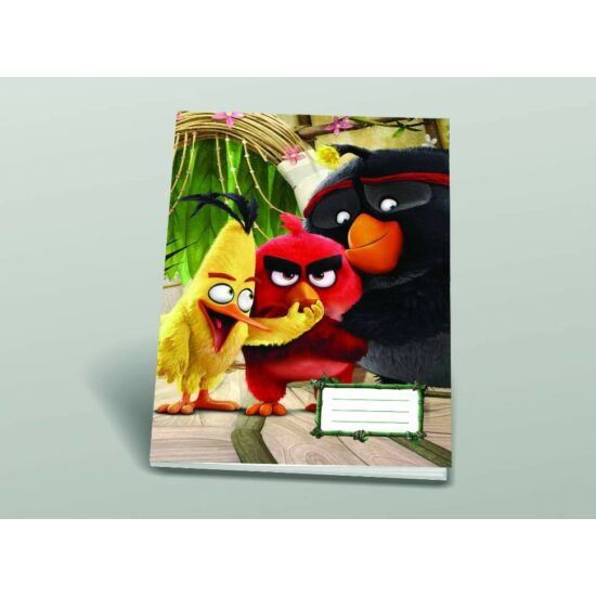 FÜZET A4 SB Angry Birds MOVIE sima 80-32