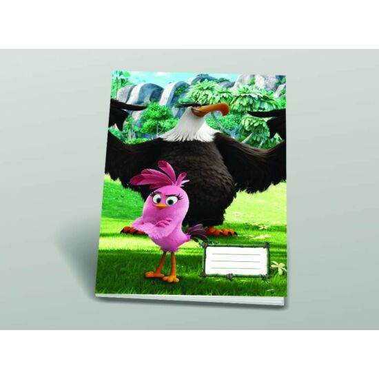FÜZET A4 SB Angry Birds MOVIE hangjegy  86-32
