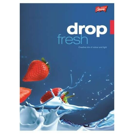 """FÜZET A5 UNIPAP szótár 31-32"""" Fresh Fruit"""" 32l"""