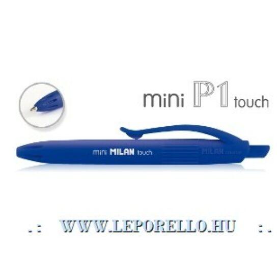 GTOLL MILAN P1 mini Touch gumírozott test kék