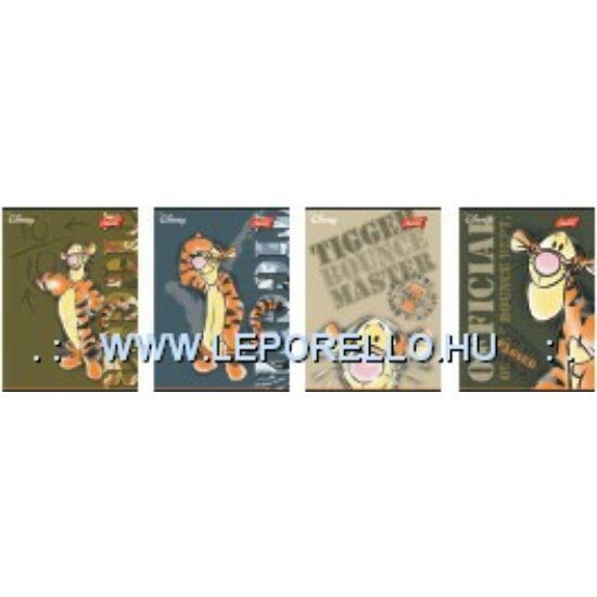 FÜZET A5 UNIPAP 2.oszt. 32lap  Barbi Fashion, Tiger, HotWheels** (Tigger, UN1009V2)