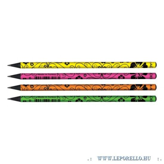GRAFIT ADEL Flowers-1198 fekete fa