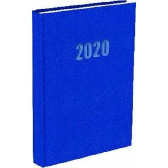 HATÁRIDŐNAPLÓ 2020 A5 napi T-Calendar Baladek Casina Balacron középkék