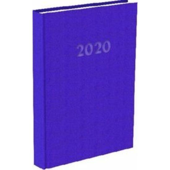 HATÁRIDŐNAPLÓ 2020 A5 napi T-Calendar Reflection Trend (lila, L03891700)