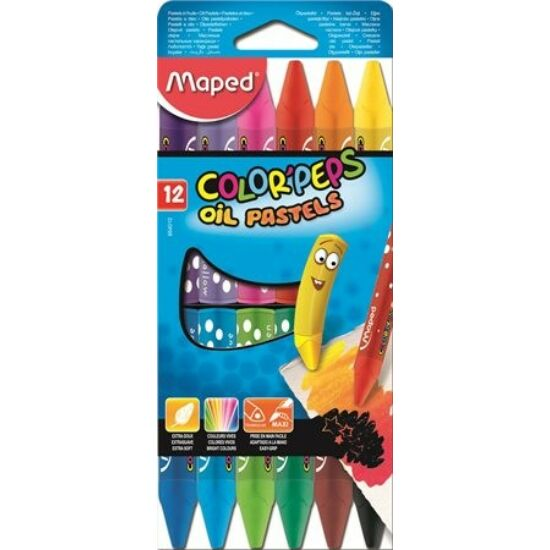 """OLAJPASZTELL 12 MAPED """"Color Peps"""""""