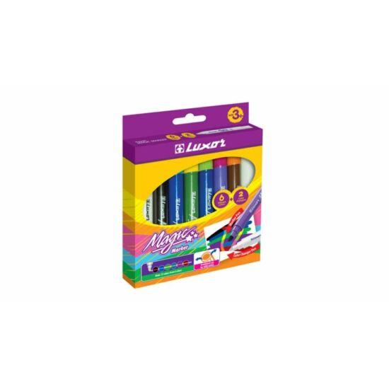 ROSTIRON 6+2 LUXOR Magic színváltó készlet, mosható