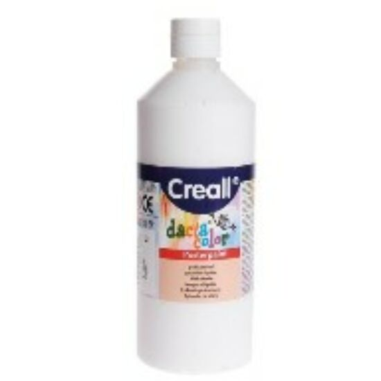 TEMPERA üveges 500ml Creall Basic alap/pasztell szinek, -Fehér-CL30081