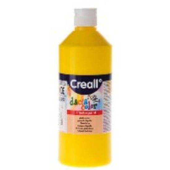 TEMPERA üveges 500ml Creall Basic alap/pasztell szinek, -Citromsárga-CL30062