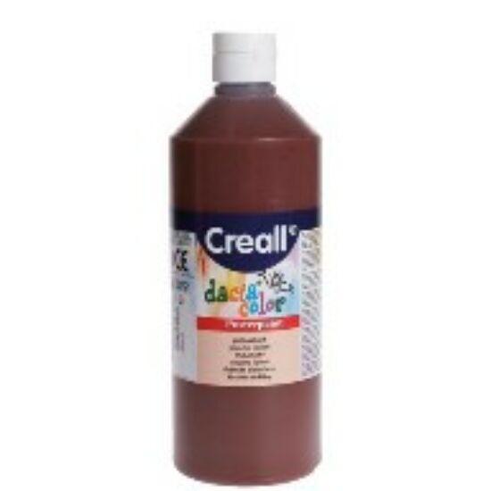 TEMPERA üveges 500ml Creall Basic alap/pasztell szinek, -Barna-CL30079