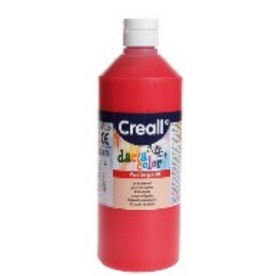 TEMPERA üveges 500ml Creall Basic alap/pasztell szinek, -Piros-CL30065