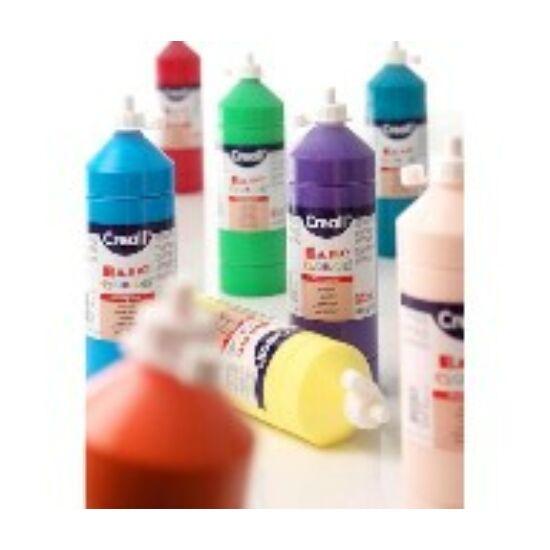 TEMPERA üveges 500ml Creall Basic alap/pasztell szinek, -Pasztell zöld
