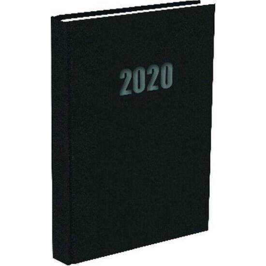 ZSEBNAPTÁR 2020 heti fekvő T-Calendar Balacron (fekete, L03921200)