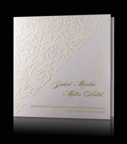 da8d7a2768 Esküvői meghívó C 0909